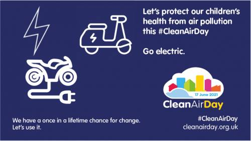 Powered Two Wheelers Help in Combating Air Pollution