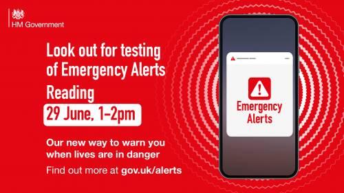 Emergency Alert Testing READING / M4